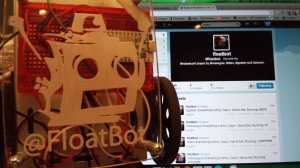 RobotsConf Twitter-controlled robot